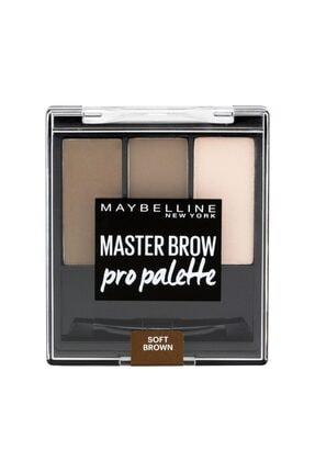 Maybelline New York Maybellıne Master Brow Pro Palette Kaş Farı Soft Brown