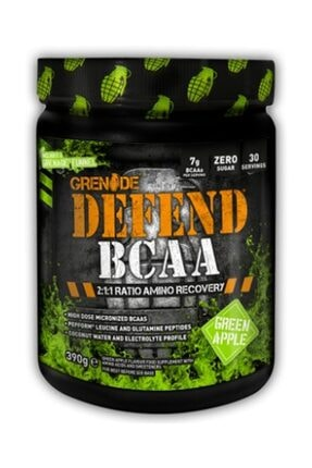 Grenade Defend Bcaa 390 Gr - Yeşil Elma Aroma -