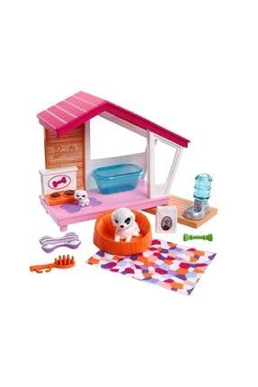 Barbie Nin Ev Içi Dekorasyon Aksesuarları Köpek Seti Fxg33-fxg34