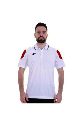 Lotto Unisex Beyaz Norma Polo Pl Tişört R5796