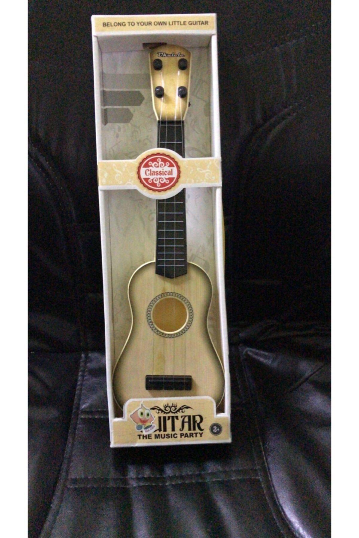 ERBAY Oyuncak Telli Gitar Oyuncak Müzik Aleti Gercekçi Çoçuk Gitar Eğitici Öğretici Ahşap Oyuncak Gitar 2