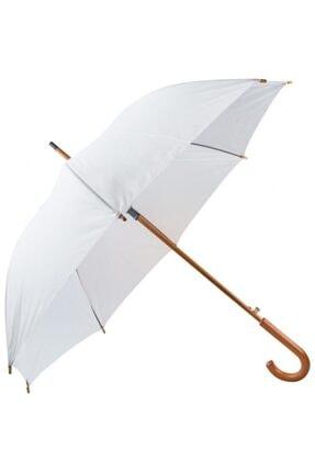 TREND Ahşap Saplı Fiber Glass Kırılmaz Şemsiye