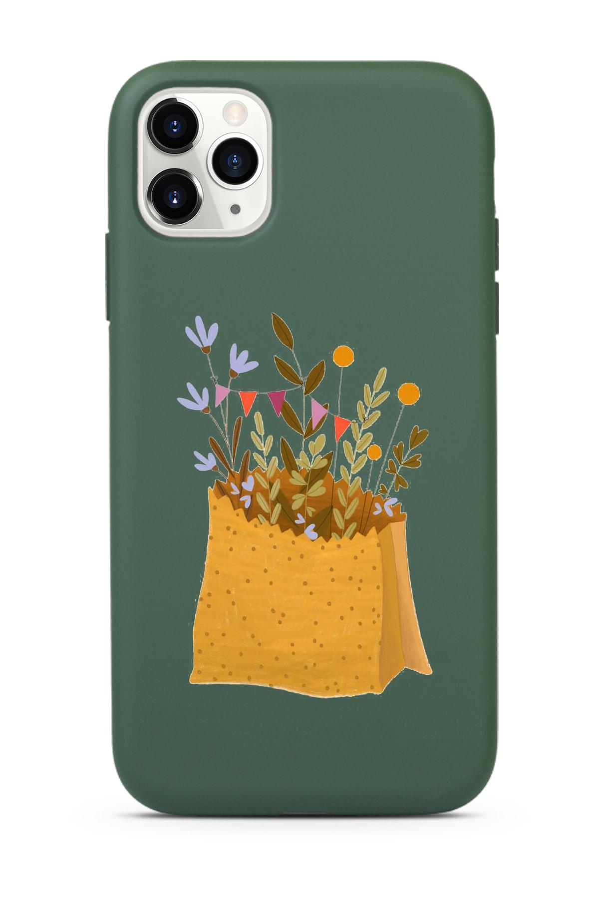 Spoyi Koyu Yeşil Lansman Kılıf Iphone 11 Pro Max 1