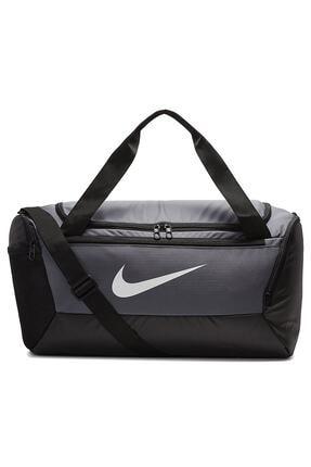 Nike BA5957-026 Brasilia S DUFF  9.0 (41L) Antrenman Gri Çantası