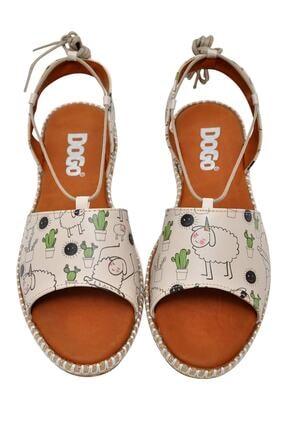 Dogo Kadın Bej Sandalet Dgs017hzl005