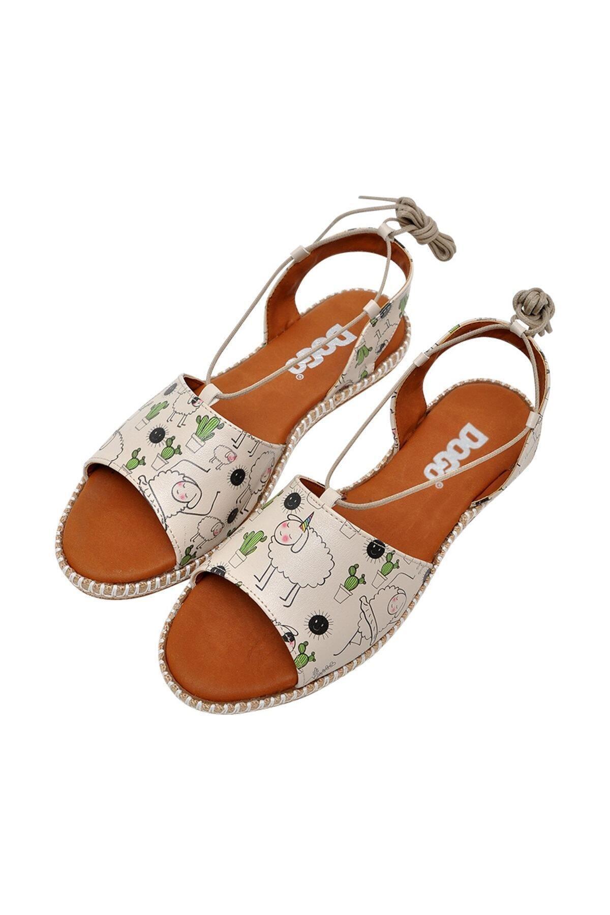 Dogo Kadın Bej Sandalet Dgs017hzl005 2