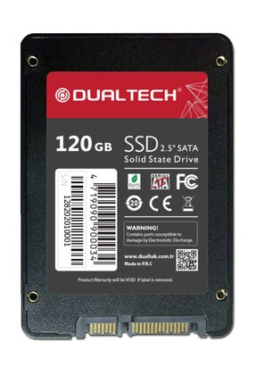 Dualtech Dt-120 120gb 550-520mb/s Sata3 Ssd