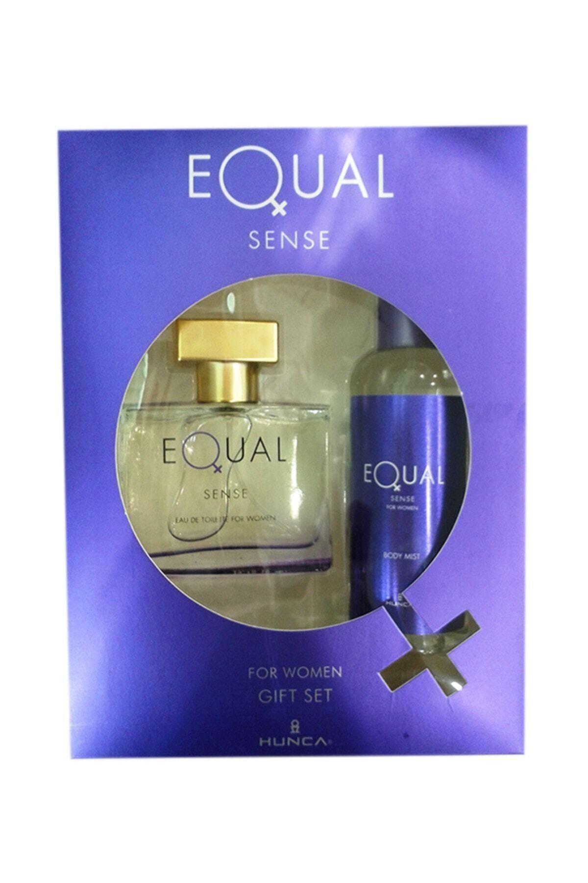 Equal Sense Kadın Edt 75 ml Kadın Parfüm + 150 ml Kofre Vücut Losyon 1