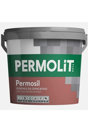 Permolit Silikonlu Dış Cephe Boyası 3.5 kg Kum Beji