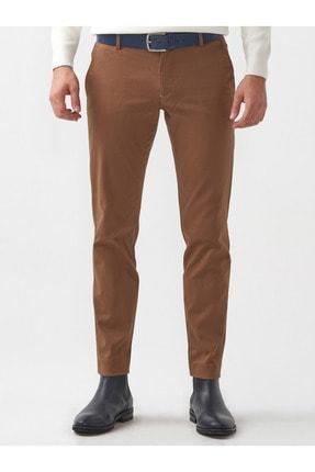 Mcr Erkek Camel Slimfit Pamuklu Pantolon