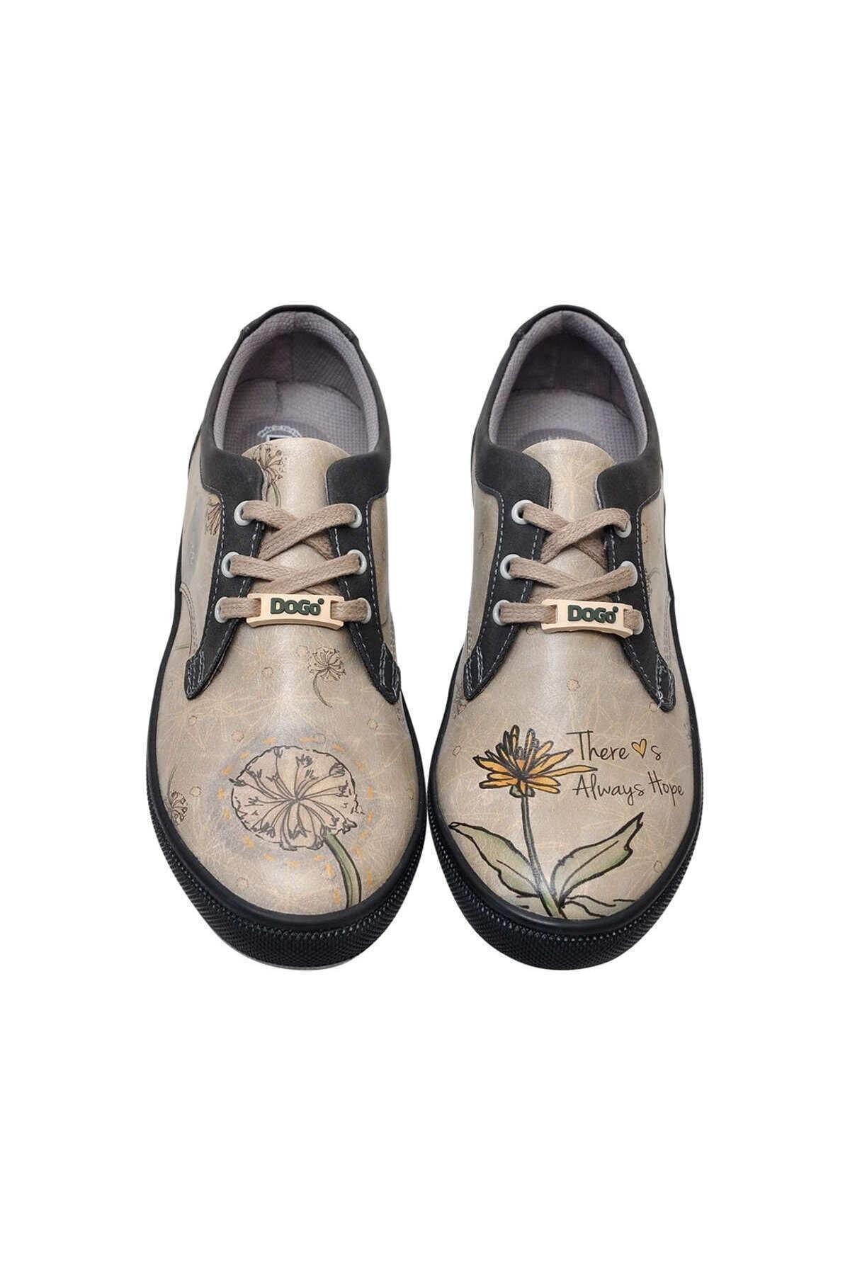 Dogo Kadın Bej Sneaker 1