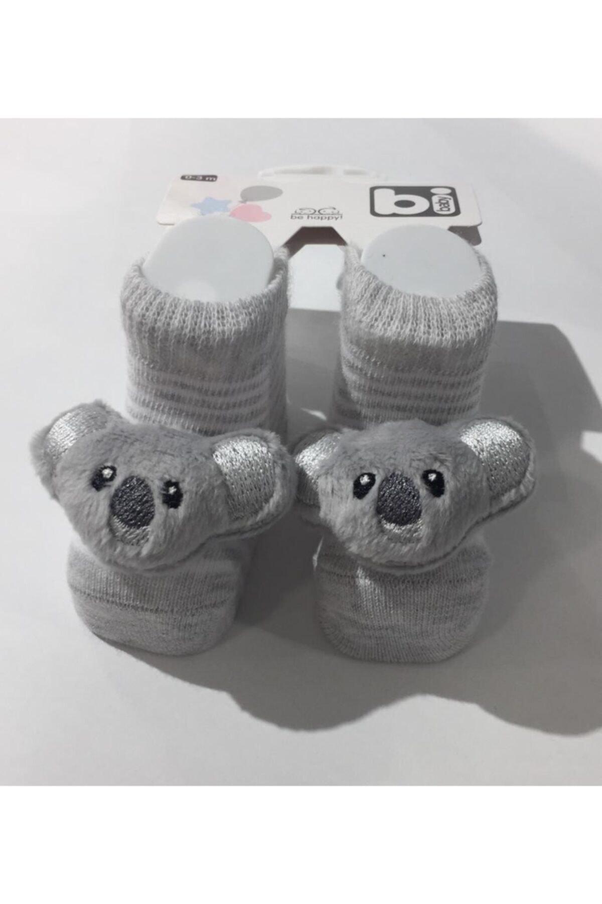 Bibaby Çıngıraklı Çorap 0-3 Ay 1