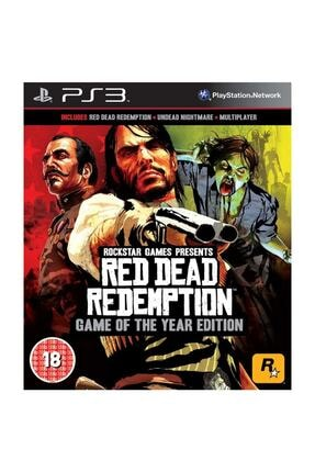 Rockstar Red Dead Redemption Game Of The Year Edition PS3 Oyun