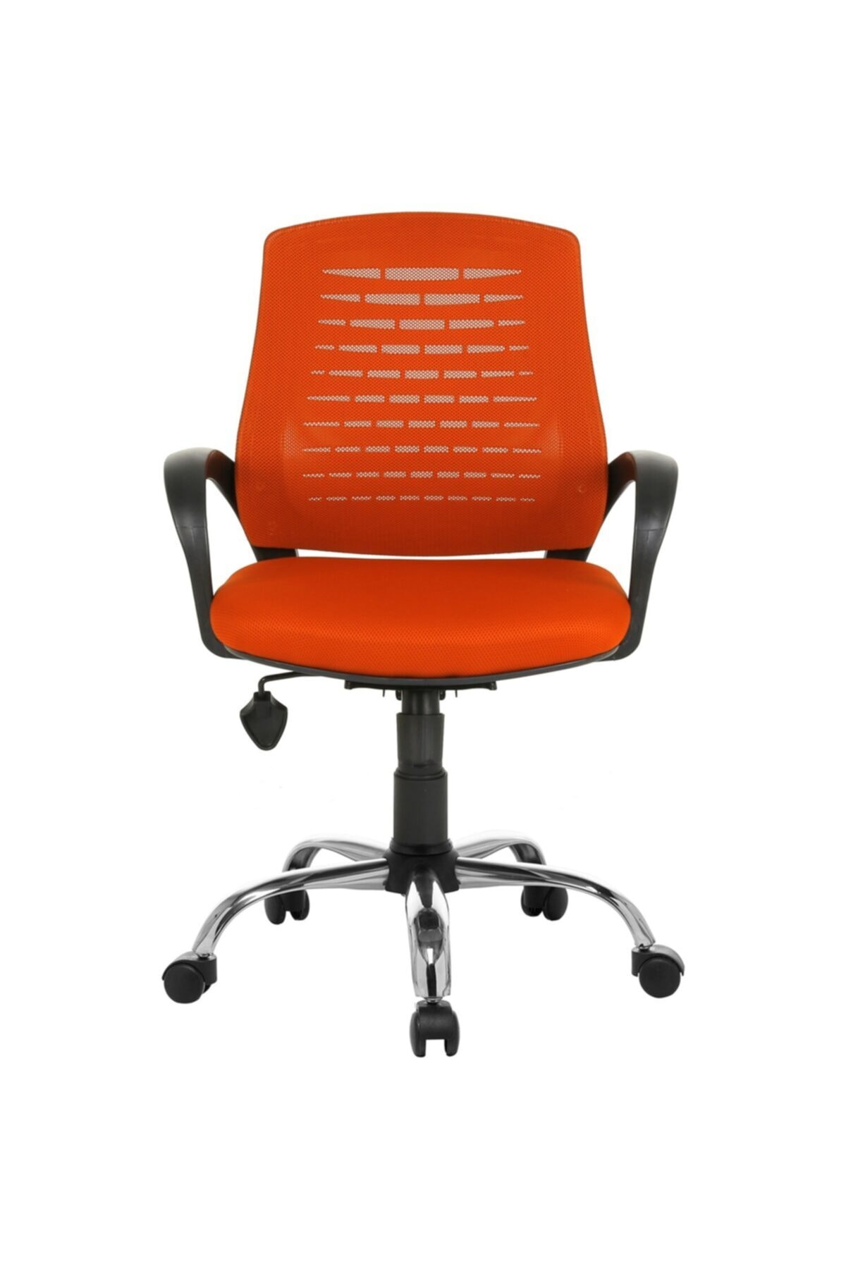 Fabrika Sers Büro Ofis Çalışma Koltuğu-turuncu Bilgisayar Sandalyesi 2