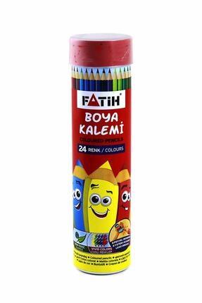 Fatih 24 Renk Tam Boy Metal Tüp Kuru Boya 33224
