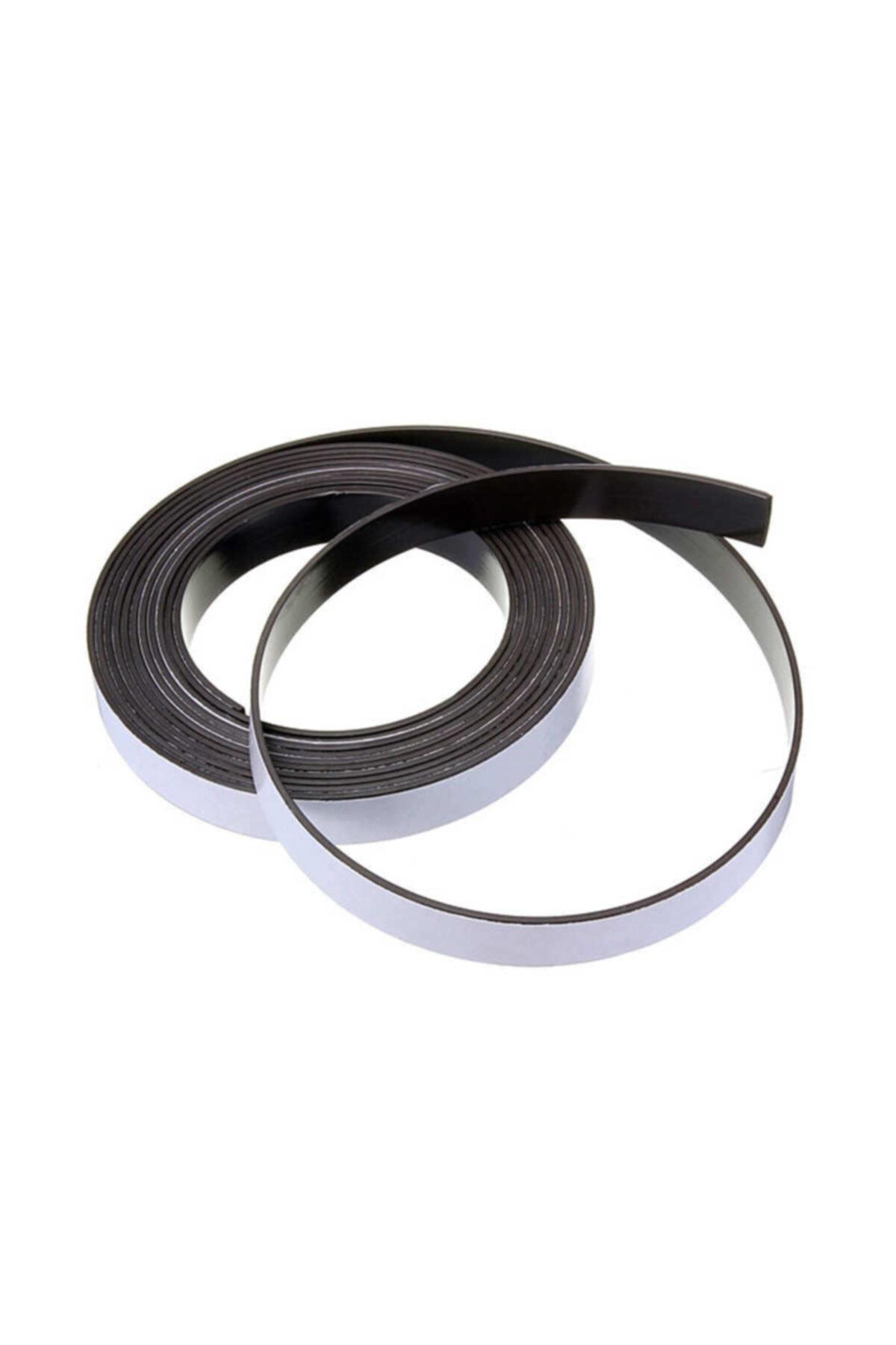 Dünya Magnet 1 Metre Şerit Magnet Mıknatıs - Arkası Yapışkanlı Çıkartmalı 2