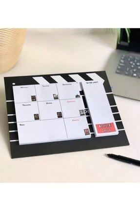 Patladı Gitti Klaket Tasarımlı Haftalık Planlayıcı