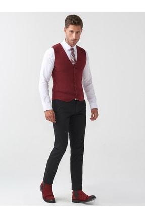 Mcr Erkek Siyah Slim Fit Pantolon