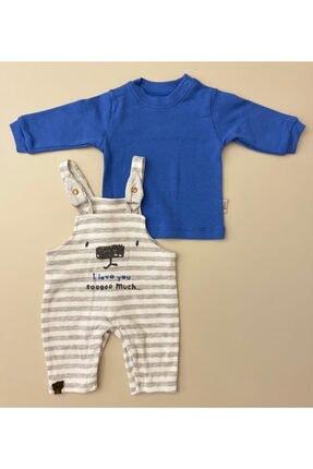 Flexi Unisex Bebe Mavi 2'li Takım