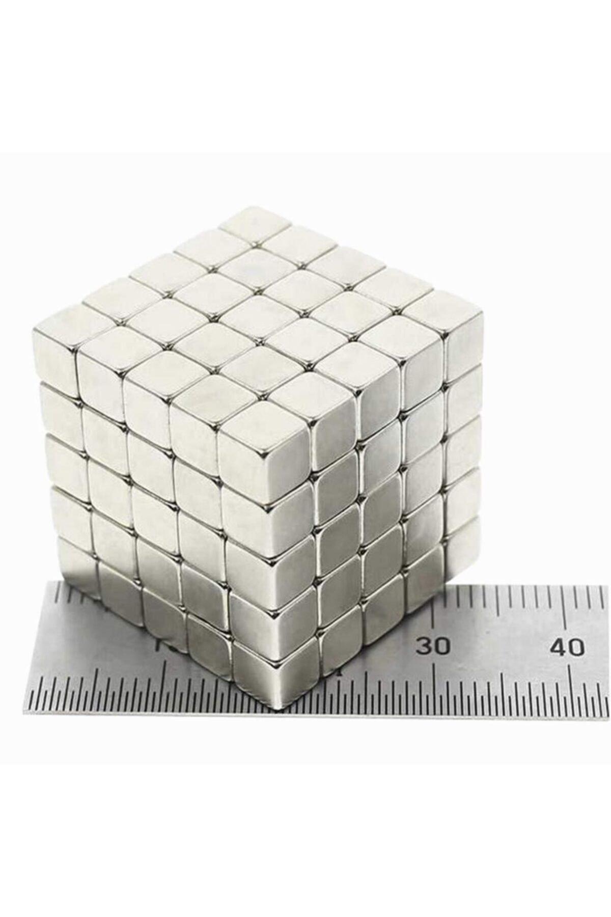 Dünya Magnet 30 Adet 5x5x5 Küp Neodyum Mıknatıs - Güçlü Magnet (30'lu Paket) 1