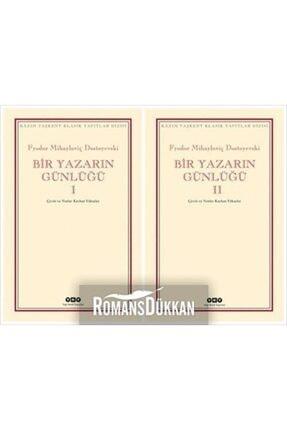 Yapı Kredi Yayınları Bir Yazarın Günlüğü İki Cilt Kutulu