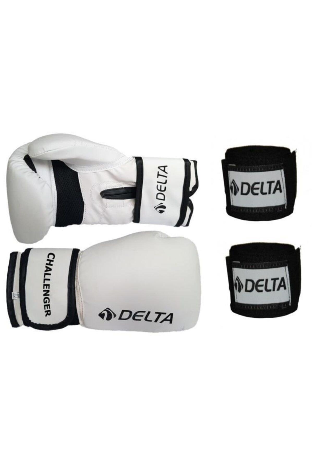 Delta Challenger Dura-strong Boks Eldiveni ve Boks El Bandajı Seti 1