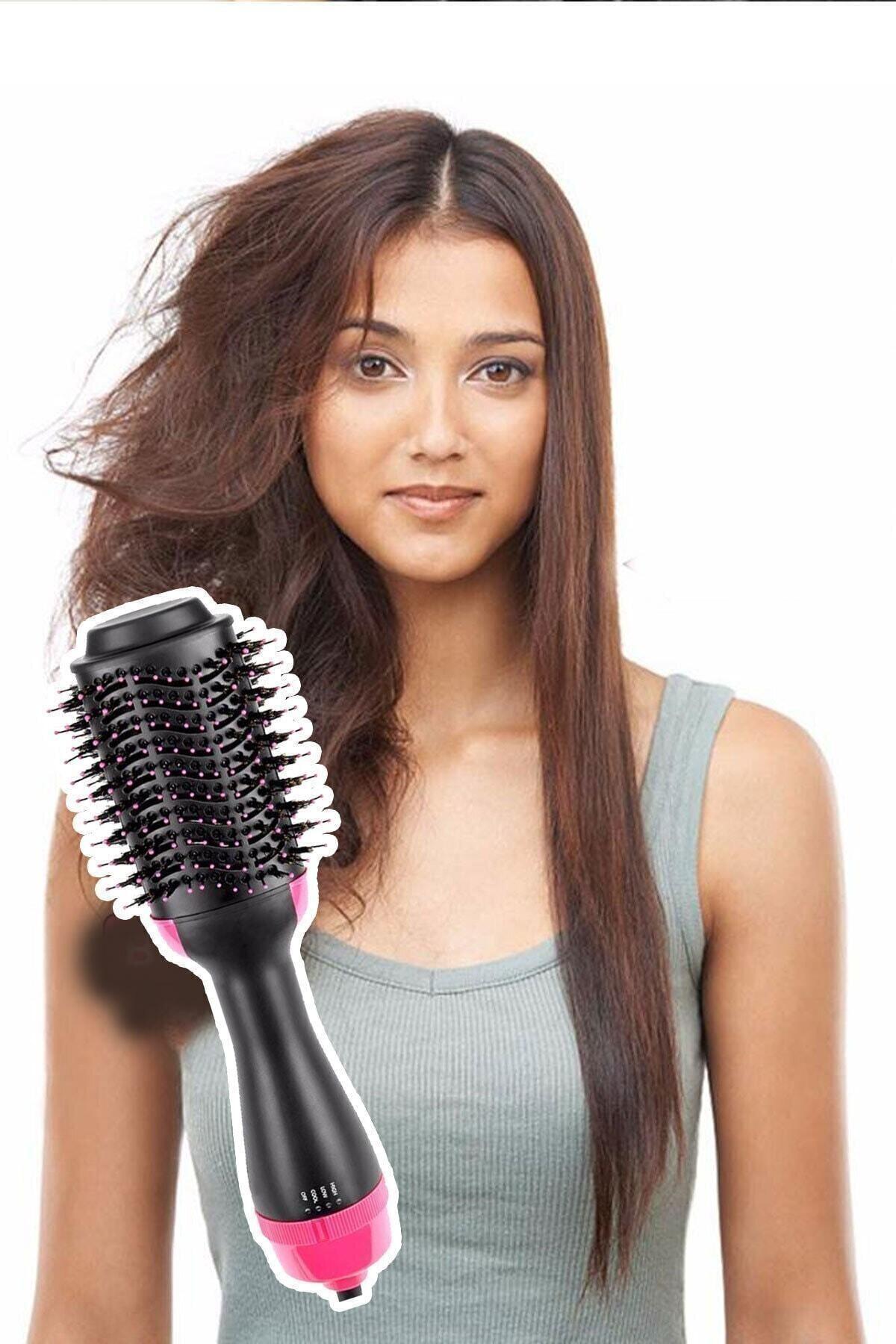 Trendmallar One Step Saç Düzleştirici Kurutmalı Fırça Tarak 1