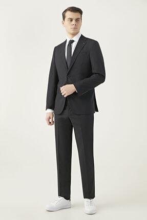 D'S Damat Ds Damat Slim Fit Siyah Düz Takım Elbise