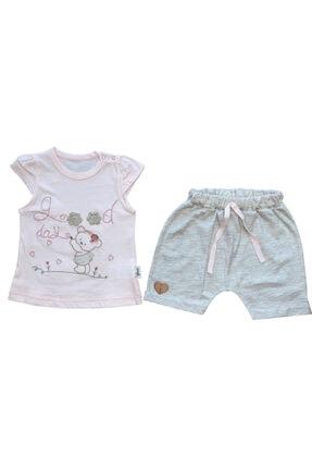 Flexi Kız Bebek Organik Pamuklu 2'li Takım 216165