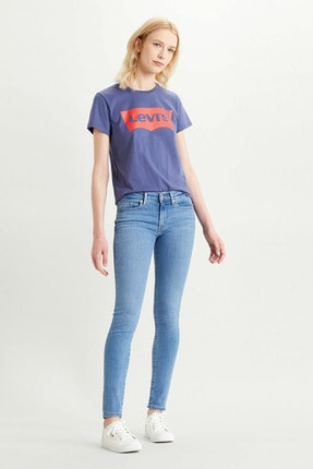 Levi's 711 Skinny Fit Kadın Jean Pantolon-rio In Limbo