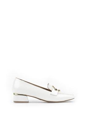 Ziya Kadın Beyaz Topuklu Ayakkabı