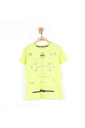 NK Erkek Çocuk Yeşil Kısa Kollu T-Shirt