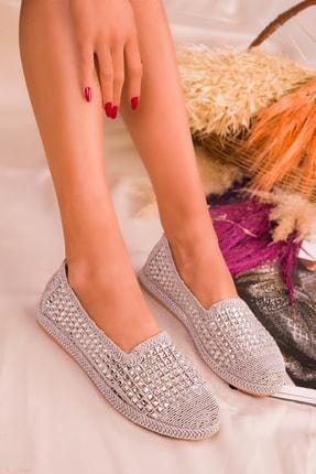 SOHO Gümüş Kadın Casual Ayakkabı 16117