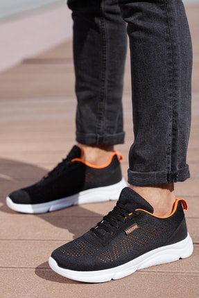 MUGGO Unısex Siyah Sneaker M512