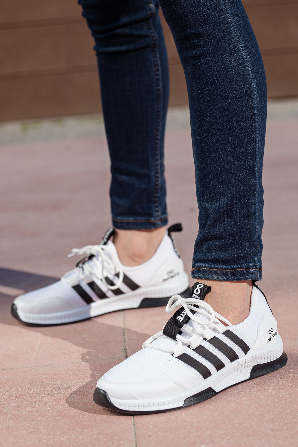 MUGGO Unisex Beyaz Sneaker Ayakkabı Mgforce01 1