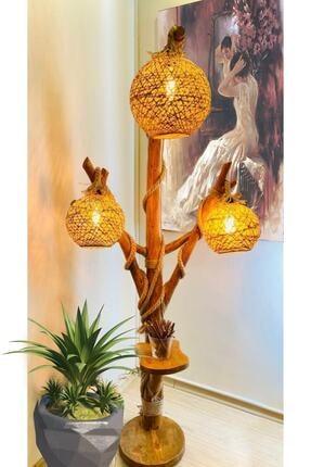 Cosargroup Ağaç Lambader Demonte Doğal Ağaç Halikarnas Serisi Min 140cm