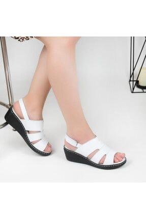 Pandora Kadın Ortopedik Deri Günlük Sandalet