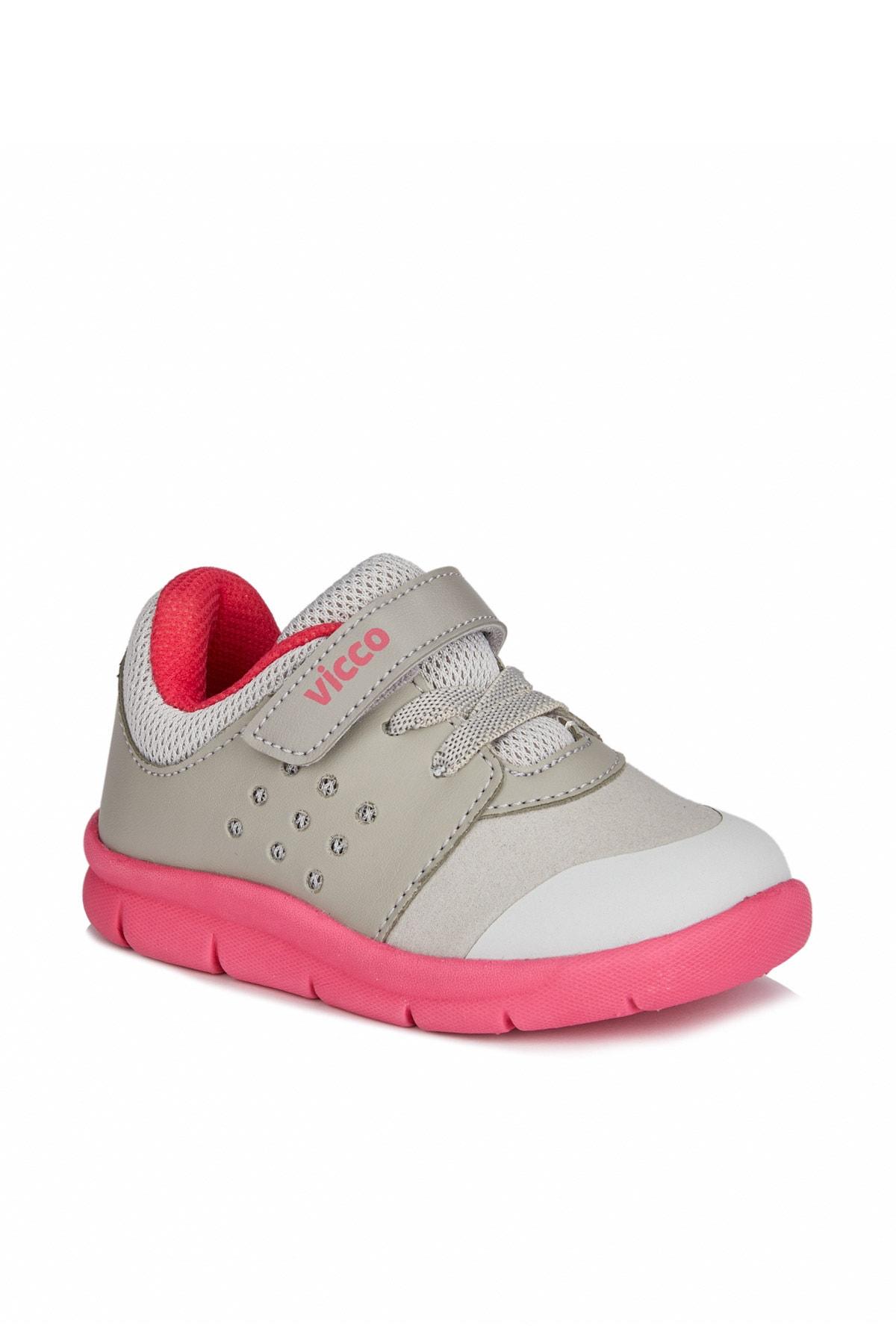 Vicco Mario Iı Kız Ilk Adım Gri/fuşya Spor Ayakkabı 1