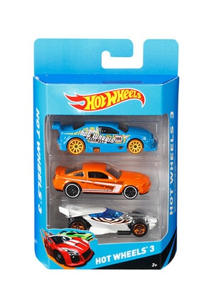 HOT WHEELS Araba Seti 3 Lü