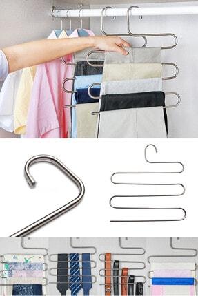 HAYATINIZI KOLAYLAŞTIRIN Pantolon Askısı Metal Akıllı Askı 1 Adet