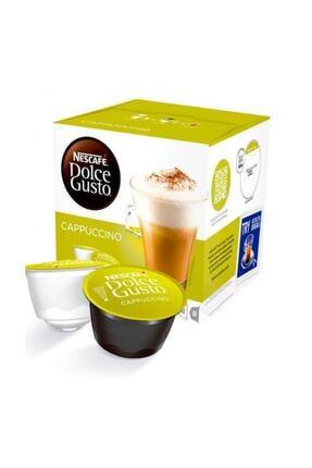 Nescafe Dolce Gusto Cappucino 16 Adet Kapsül Kahve %100 Arabica