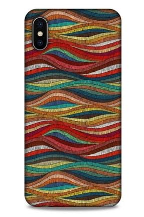 Lopard Ethnic Culture 66 Apple Iphone Xs Max Silikon Kapak Desenli Kılıf