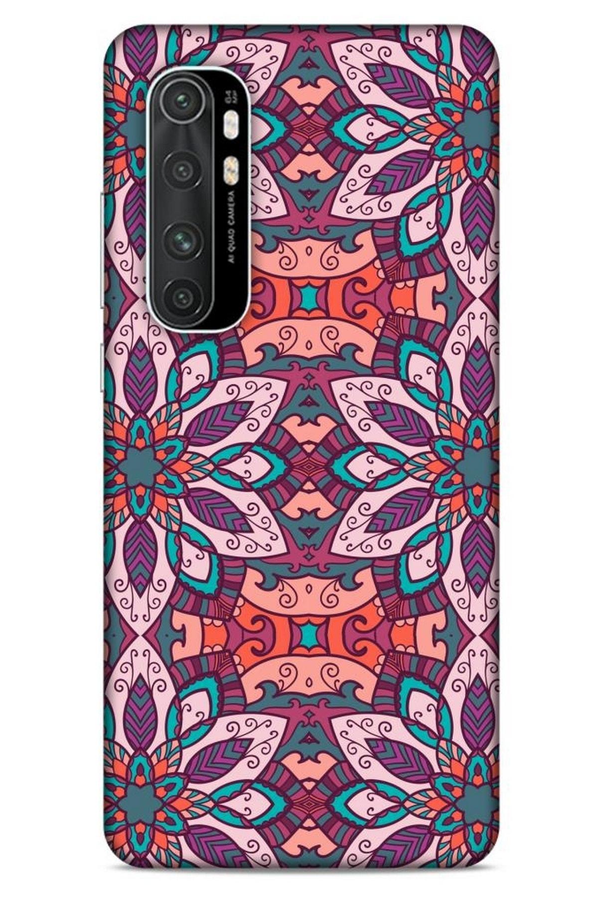 Lopard Ethnic Culture (8) Xiaomi Mi Note 10 Lite Kılıf Silikon Kapak Desenli 1