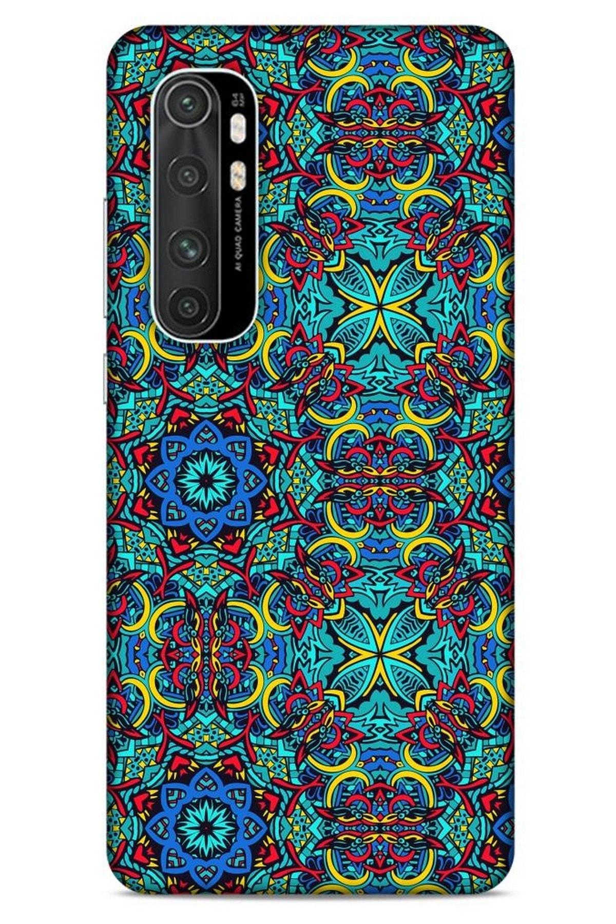 Lopard Ethnic Culture (100) Xiaomi Mi Note 10 Lite Kılıf Silikon Kapak 1