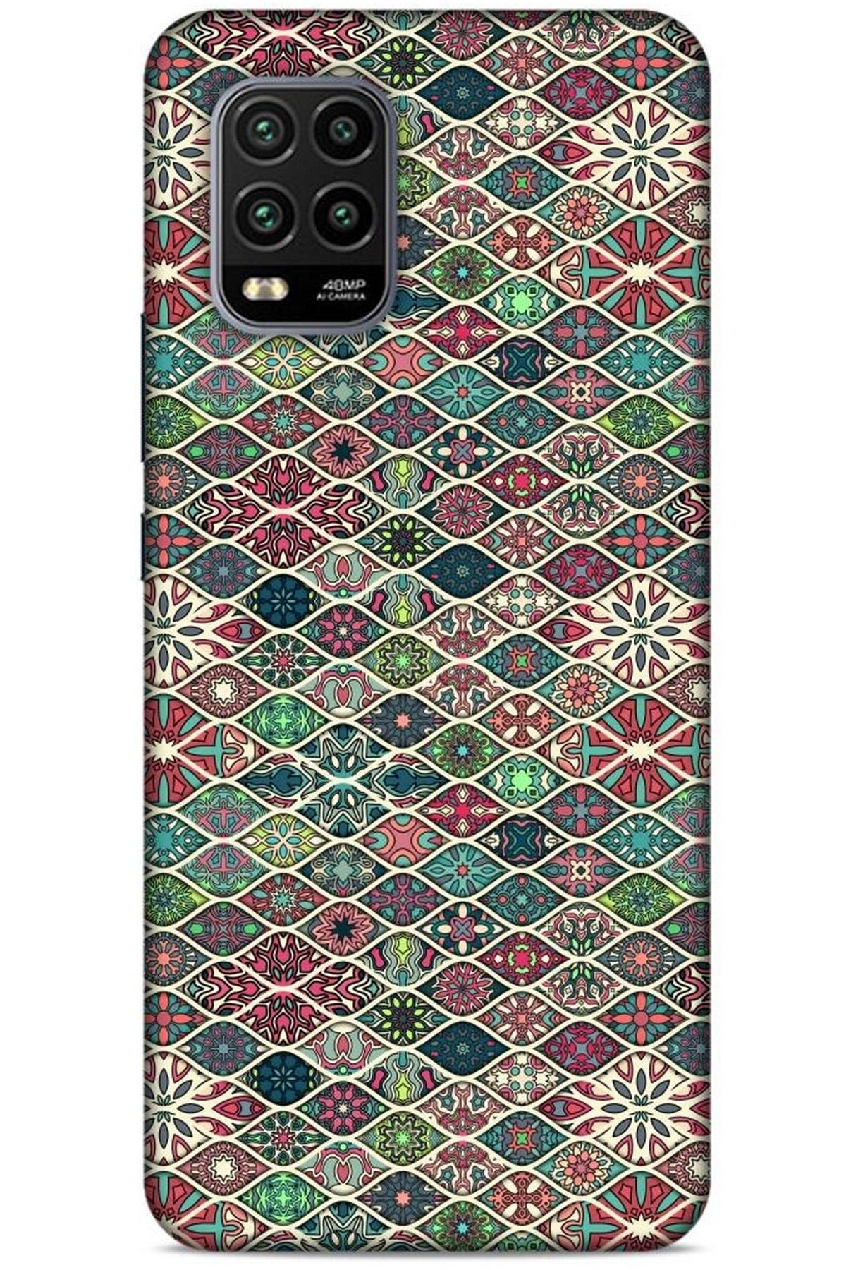Lopard Ethnic Culture (3) Xiaomi Mi 10 Lite Kılıf Silikon Kapak 1