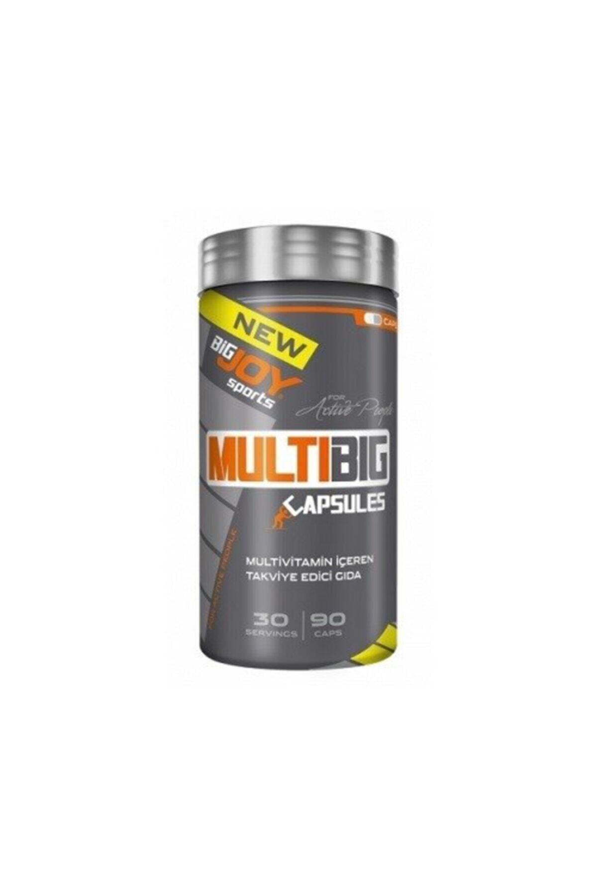 Big Joy Bigjoy Multibig Vitamin Mineral 90 Kapsül Multivitamin 1