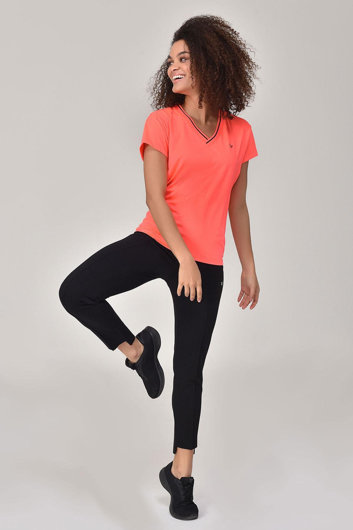 bilcee Kadın Pembe T-Shirt GS-8029 1
