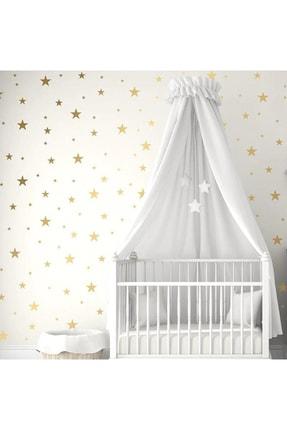 Keep Armor Çocuk Bebek Odası Duvar Yıldız Sticker Etiket Dekor 160 Adet Gold