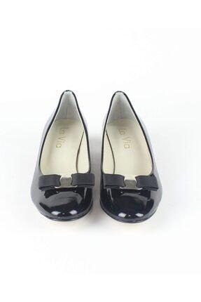 Özel Tasarım Kadın Hakiki Rugan Hakiki Deri Yumurta Topuk Ayakkabısı