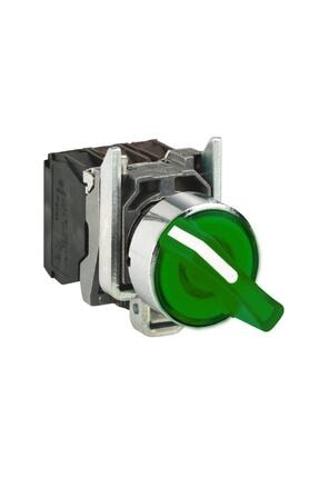 Schneider Electric Xb4bk123m5 Yeşil Işıklı Mandal Buton1na-1nk